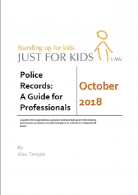 Police Records: A Guide for Professionals (December 2018)