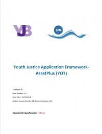YOT Custody View in the Youth Justice Application (2018)