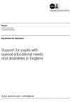 Support for pupils with special educational needs and disabilities in England (2019)