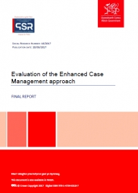 Evaluation of the Enhanced Case Management approach (2017)