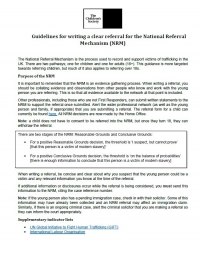 National Referral Mechanism