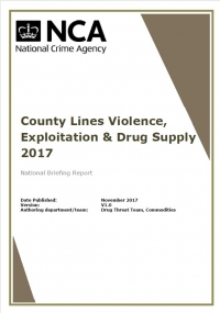 County Lines Violence, Exploitation & Drug Supply 2017 Briefing Report