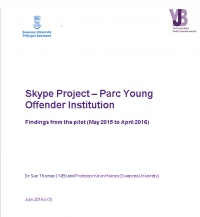 Skype Project - Parc Young Offender Institution (2016)