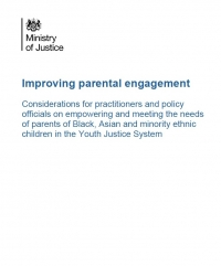 Improving Parental Engagement Report, MoJ (2020)