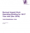 Revised Unpaid Work Operating Briefing for 16/17 Year olds (Dec 2016)