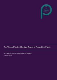 The Work of Youth Offending Teams to Protect the Public (Thematic Inspection)